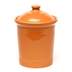 Certified International Sanctuary Wine Biscuit Jar >> Fiesta Small Canister in Tangerine - 12417109 - Overstock.com Shopping - Big Discounts on Fiesta ...
