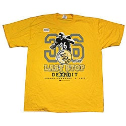 Jerome Bettis Yellow 'Last Stop' Short-sleeve T-shirt