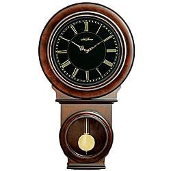 seth thomas lillian brown wood pendulum wall clock