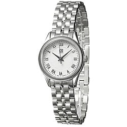 ESQ Women's 07101302 Harrison Round Silvertone Bracelet Watch