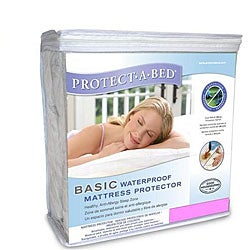 Protect-A-Bed Basic Queen-size Waterproof Mattress Protector