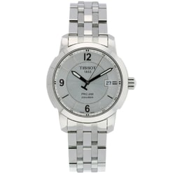 Tissot Men's PRC 200 Silver-Dial Watch