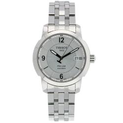 Tissot Men's T0144101103700 PRC 200 Silver-Dial Watch