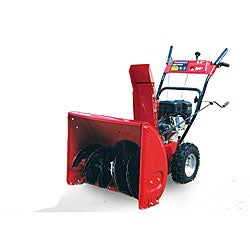 Powerland 24-inch 2-stage 196cc Snow Blower