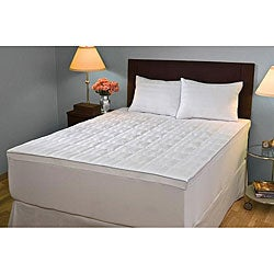 Supreme Memory Foam Fiber Top Mattress Topper