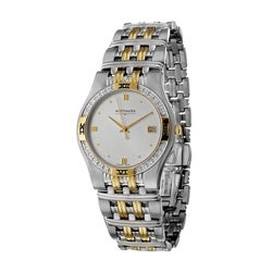 Wittnauer Men's Laureate Stainless Steel Quartz Watch