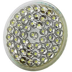 Eforcity MR16 2.4-watt 48-LED White Light Bulb