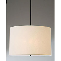 Beige Shade 4-light Pendant Chandelier