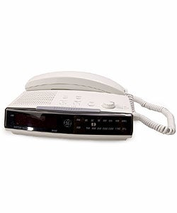 GE 2-9710 Spacesaver Telephone Clock Radio (Refurbished)