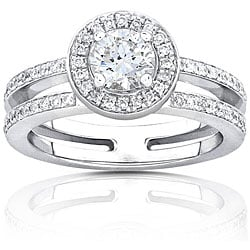 14k Gold 3/4ct TDW Round-cut Diamond Engagement Ring (H-I, I1-I2)
