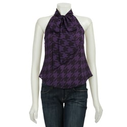 Women's Houndstooth Top