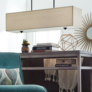New Ventura 3-light Rectangular Chandelier