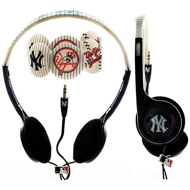 Nemo Digital MLF10118NYY MLB New York Yankees Headphones