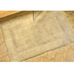 Safavieh Set of 2 Spa Soft Beige 2400-Gram Bath Mats (2'1 x 3'9)