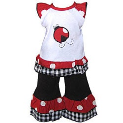 AnnLoren Ladybug American Girl Doll Outfit