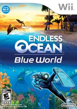 Wii - Endless Ocean: Blue World