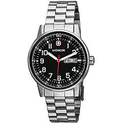 Wenger Men's Swiss Military Commando Day-Date Watch
