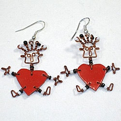 Valentine's Hope Earrings (Kenya)