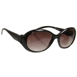 Journee Collection Women&#39;s Black Oversized Sunglasses
