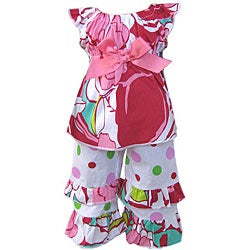 AnnLoren Sassy Floral American Girl Doll Outfit