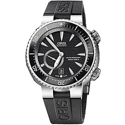 Oris TT1 Men's Divers Titanium Automatic Rubber Strap Watch