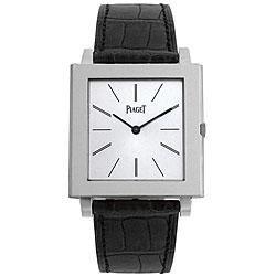 Piaget Men's Altiplano 18k White Gold Mechanical Watch