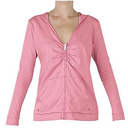 Organic Cotton Women's Shirred Hoody (Peru)