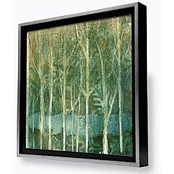 Caroline Ashton 'Imposed Environment II' Framed Canvas Painting