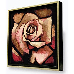 Gallery Direct Arthur Albin 'Rose Study I' Framed Canvas Artwork