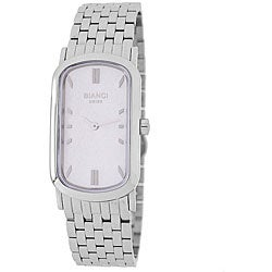 Roberto Bianci Men's Oblong Stainless Steel Watch