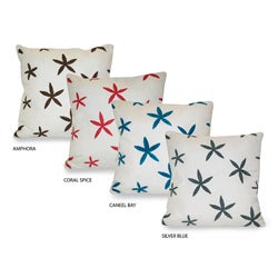 'Sea Star' Starfish Towel-stitch Pillow