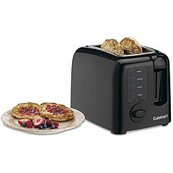 Cuisinart CPT-120BKFR Black Cool-touch 2-slice Toaster (Refurbished)