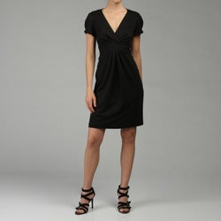 Tiana B. Women's Black Ponte Knit Dress