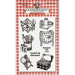 Gooseberry Patch Cookin' Up Memories Clear Stamps