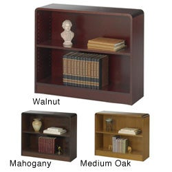 Safco 2-shelf Radius Edge Bookcase