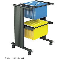 Safco MUV Single Width Portable Filing Cart