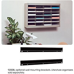 Safco E-Z Store Wall Mounting Brackets