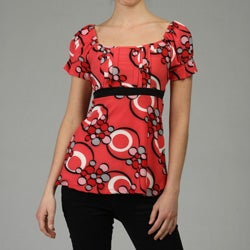 Simply Irresistible Women's Empire Waist Top