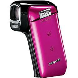 Sanyo VPC-CG10 HD Pink Flash Memory Camcorder