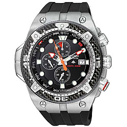 Citizen Men's Eco-Drive Promaster Carbon Rubber Strap Watch