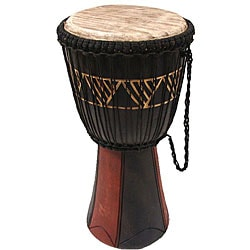 Handcrafted Big Bang Djembe Drum (Ghana)