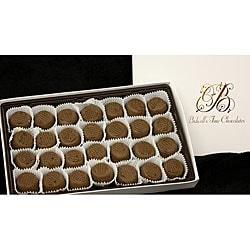 Bidwell Candies Chocolate Vanilla Creams Half-pound Box