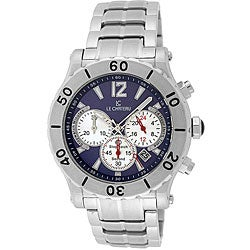 Le Chateau Dinamica Men's All Steel Chrono Watch