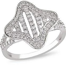 10k White Gold 1/3ct TDW Diamond  Ring (H-I, I2-I3)