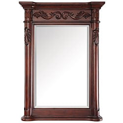 Estate 24-inch Antique Cherry Mirror