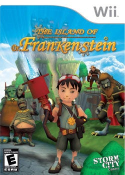 Wii - Island of Dr. Frankenstein By Storm city