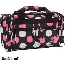 Rockland Bel-Air Multi Pink Polka Dot 19-inch Duffel Bag