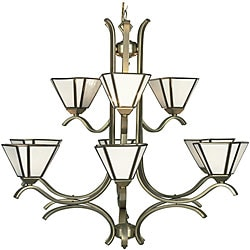 Kenroy Satin 9-light Chandelier