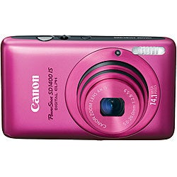 Canon PowerShot SD1400IS 14.1MP Pink Digital Camera