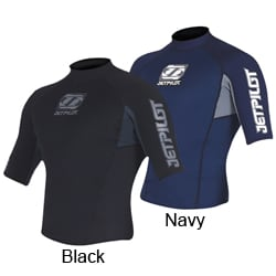Jet Pilot Men's Flight Jacket Wetsuit Neoprene Top